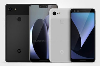 Fresh renders confirm notch for Pixel 3 XL, chunky bezels for Pixel 3