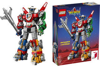 Forget Transformers, Lego Voltron is the constructible robot everyone will want