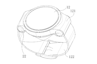 Next Huawei Watch could come with in-ear headphones in the band according to patent image 2