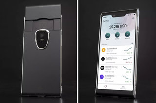 Want a blockchain phone? Finney has dual screens and costs $1,000