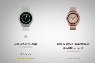 Samsung accidentally reveals new Galaxy Watch on its website