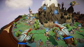 Skyworld VR review Turn based-strategy fun with demons knights and tiny dragons image 2