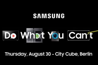 Samsung's IFA press event confirmed - but doesn't look like it's time for Galaxy Watch