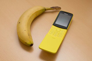 """Nokia 8110 4G """"banana phone"""" now on pre-order, relive the 90s"""