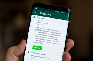 WhatsApp backups to be free and unlimited on Android, not so iPhone