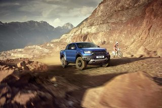 Ford's blistering Ranger Raptor power pickup will blast into the UK next year