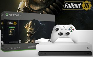 Microsoft is selling a white Xbox One X and Fallout 76 bundle