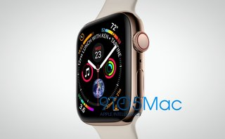 Apple Watch Series 4 leak: Image shows larger display and gold finish