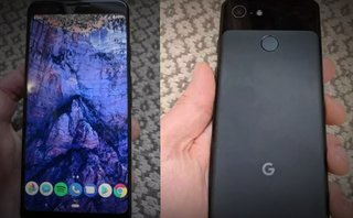 Google Pixel 3 phone leaks out with 2 XL design and no notch