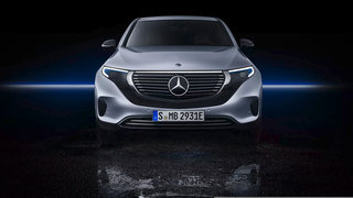 Mercedes unveils its first production all-electric car: the EQC