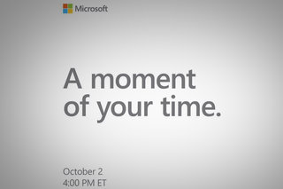 Surprise! Microsoft is holding a Surface event on 2 October