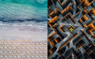 Astounding aerial photos or amazing abstract art?