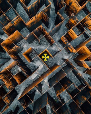 Astounding aerial photos or amazing abstract art image 7