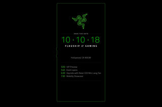 Razer sends out invites to 10 October event likely for Razer Phone 2