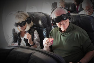 Alaska Airlines is offering first-class flyers VR movies in the US