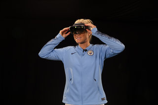 Vodafones 5g Holographic Call England Captain Steph Houghton Explains Her Part In It image 2