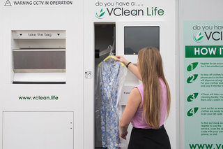 Eco-friendly laundry vending machines start to appear across London Tube network