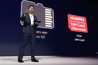 What is the Huawei NM card used in the Mate 20 phones?