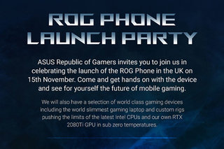 Asus ROG Phone UK release confirmed by launch invite coming November image 2