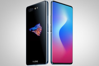 The Nubia X has an OLED screen on the back that completely disappears image 1
