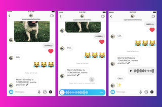 Fake instagram chat iphone