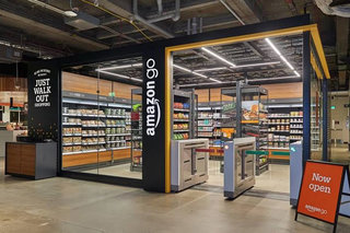 Amazon squeezed a mini cashier-less Amazon Go shop into a Macy's store