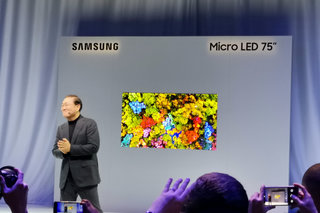 Samsung's 75-inch Micro LED TV will actually launch - in 2020