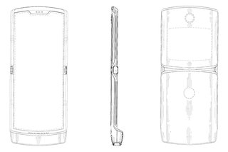 Motorola Razr 2019 patent shows foldable phone with retro design image 2