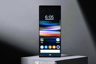 Leaked Sony Xperia XZ4 images show a super-long display