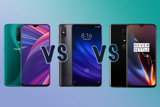 Oppo RX17 Pro vs Xiaomi Mi 8 Pro vs OnePlus 6T: The alt-flagship showdown