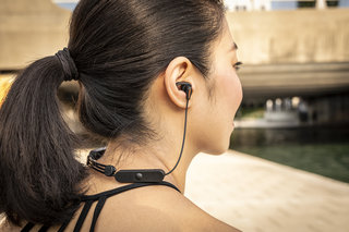 Klipsch R5 Wireless earphones are tiny and tight fitting, designed for an active lifestyle