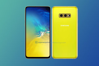 Samsung S10e in Canary Yellow is bright, so very bright