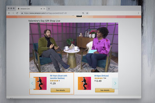 Amazon quietly launches Live, a QVC-like home shopping channel