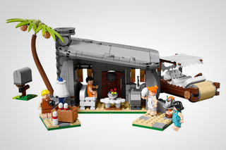 This 748-piece Flinstones Lego set makes us want to yabba dabba build