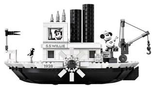 Lego startet Mickey Mouse Steamboat Willie and Friends-Sets im Jahr 2019