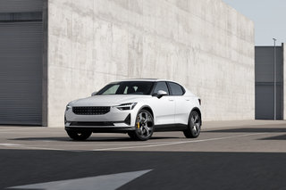 Polestar 2 is pure electric, vegan, powered by Google and dripping in Scandinavian design