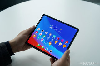 Oppos foldable phone has been shown off sort of image 2