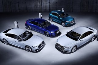 Audi is introducing plug-in hybrid versions of its A6, A7 Sportback, A8 and Q5 models