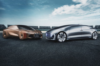 BMW and Daimler are now working together on autonomous driving systems