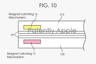 This Apple patent is for a folding phone with a super-durable fold image 2