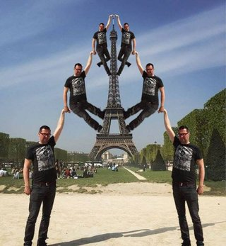 Celebrate 130 years since the Inauguration of the Eiffel Tower with hilarious Photoshoppings image 16