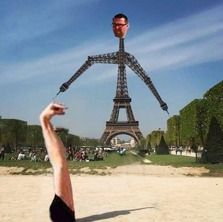 Celebrate 130 years since the Inauguration of the Eiffel Tower with hilarious Photoshoppings image 20