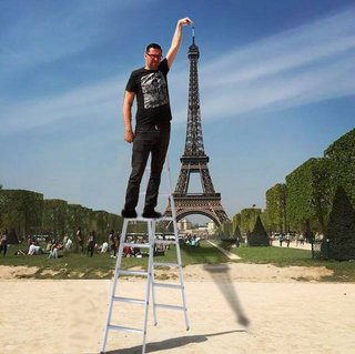 Celebrate 130 years since the Inauguration of the Eiffel Tower with hilarious Photoshoppings image 4