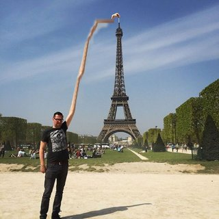 Celebrate 130 years since the Inauguration of the Eiffel Tower with hilarious Photoshoppings image 7