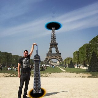 Celebrate 130 years since the Inauguration of the Eiffel Tower with hilarious Photoshoppings image 8