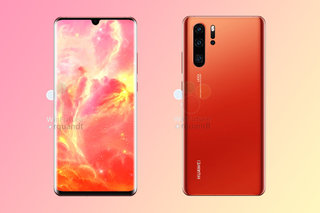 Huawei P30 Pro appears online in beautiful Sunrise colour