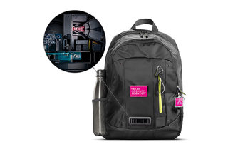 Dyson backpack monitors air quality to report on pollutants that London's kids are breathing