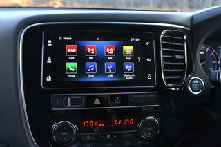 Mitsubishi Outlander PHEV review interior image 2
