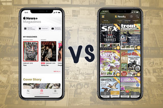 Apple News+ vs Readly: Battle of the mag subscription services