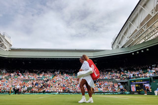 Wimbledon's official photographer snapped these awesome shots on a phone